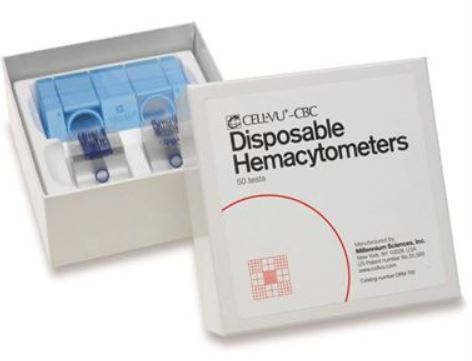 Cell-Vu CBC Disposable Hemacytometers | DRM-700