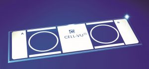 DRM-650 CELL-VU Microscope slides